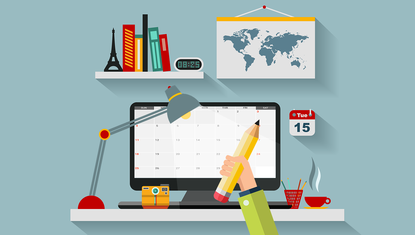 creating a content marketing calendar
