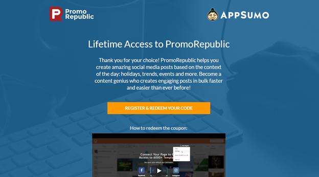The PromoRepublic experience: how a startup can get supersonic