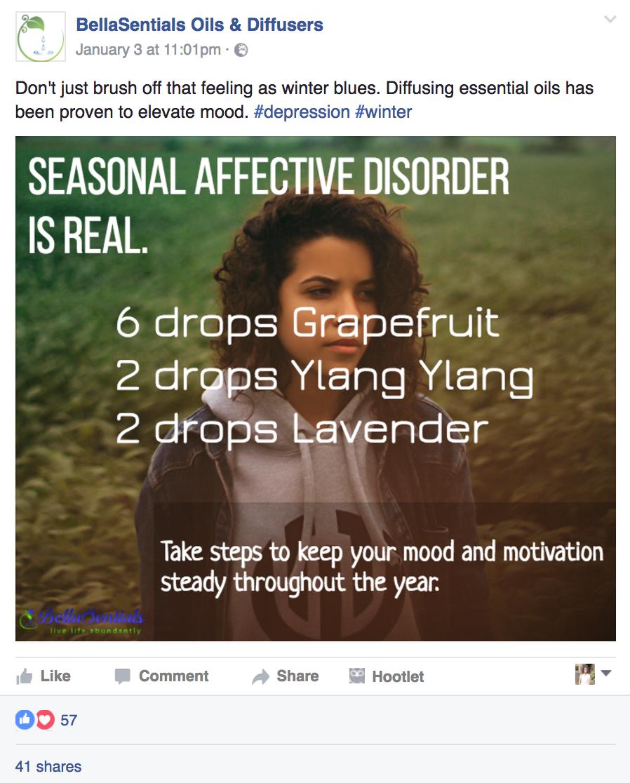 helpful facebook post