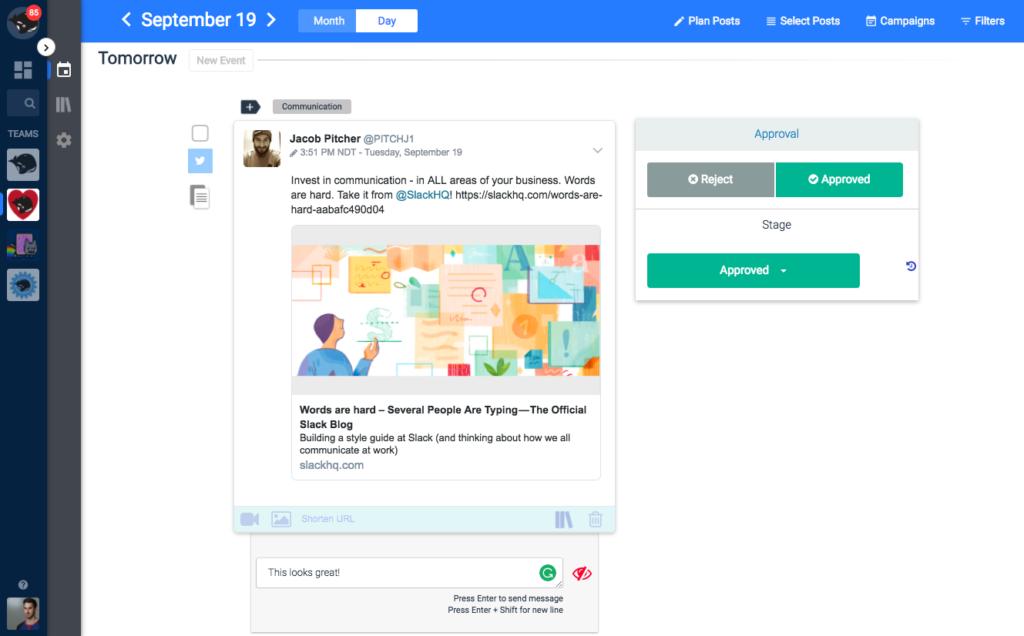 social media management marketing tools