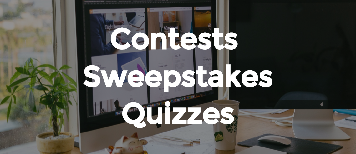 contests, sweepstakes and quizzes by Heyo