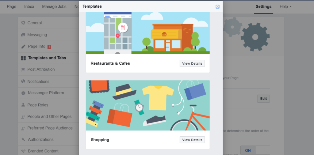 steps to open a Facebook store