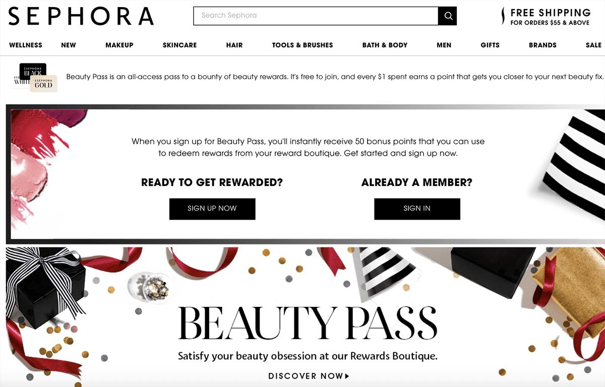 Sephora Beauty Pass
