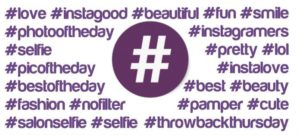 create a hashtag