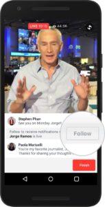 Facebook live for social media