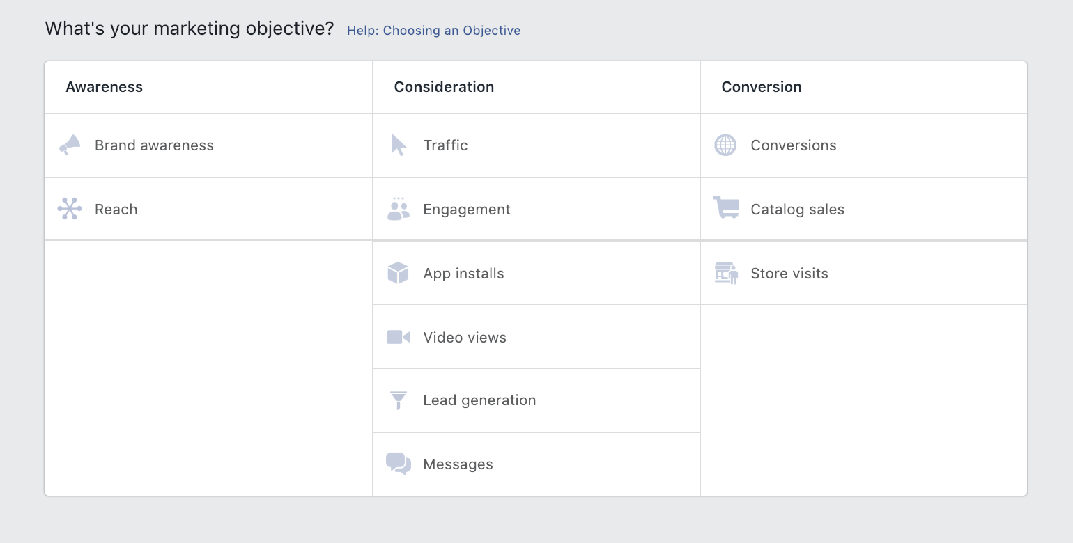 facebook-marketing-objective
