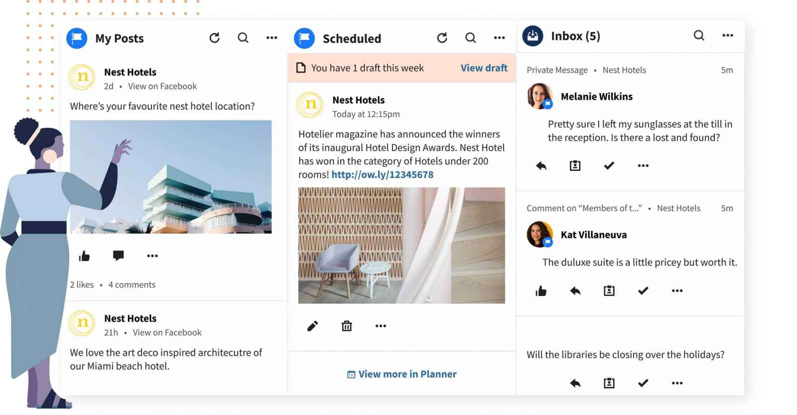 Hootsuite. Social Media Management Tools Comparison